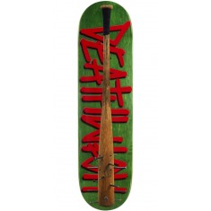 "Deathwish Deathspray Spiked Bat Skateboard Deck - 8.125"" - Green Stain"