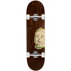 "Baker Reynolds Portrait Of A Man Skateboard Complete - 8.25"" - Brown Stain"
