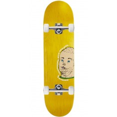 "Baker Reynolds Portrait Of A Man Skateboard Complete - 8.25"" - Yellow Stain"