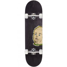 "Baker Reynolds Portrait Of A Man Skateboard Complete - 8.25"" - Grey Stain"