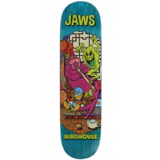 "Birdhouse Jaws Vices Skateboard Deck - 8.25"" - Teal Stain"