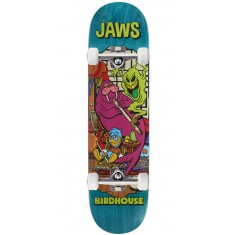 "Birdhouse Jaws Vices Skateboard Complete - 8.25"" - Teal Stain"