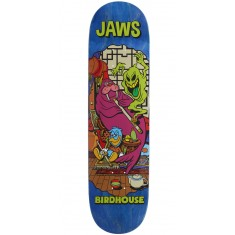"Birdhouse Jaws Vices Skateboard Deck - 8.25"" - Blue Stain"