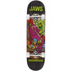 """Birdhouse Jaws Vices Skateboard Complete - 8.25"""" - Grey Stain"""