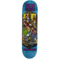 "Birdhouse Raybourn Vices Skateboard Deck - 8.50"" - Teal Stain"