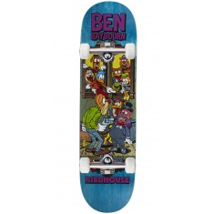 """Birdhouse Raybourn Vices Skateboard Complete - 8.50"""" - Teal Stain"""