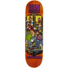"Birdhouse Raybourn Vices Skateboard Deck - 8.50"" - Orange Stain"