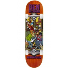 "Birdhouse Raybourn Vices Skateboard Complete - 8.50"" - Orange Stain"