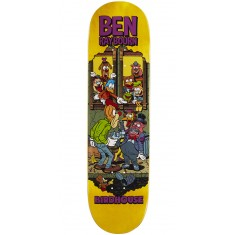 "Birdhouse Raybourn Vices Skateboard Deck - 8.50"" - Yellow Stain"
