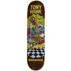 "Birdhouse Hawk Vices Skateboard Deck - 8.00"" - Brown Stain"