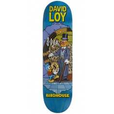 "Birdhouse Loy Vices Skateboard Deck - 8.38"" - Teal Stain"