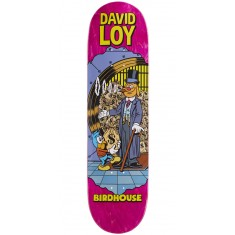 "Birdhouse Loy Vices Skateboard Deck - 8.38"" - Pink Stain"