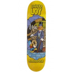 "Birdhouse Loy Vices Skateboard Deck - 8.38"" - Yellow Stain"