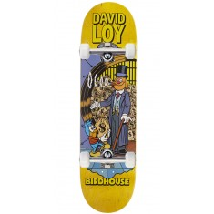 "Birdhouse Loy Vices Skateboard Complete - 8.38"" - Yellow Stain"