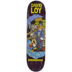 "Birdhouse Loy Vices Skateboard Deck - 8.38"" - Purple Stain"