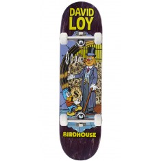 "Birdhouse Loy Vices Skateboard Complete - 8.38"" - Purple Stain"
