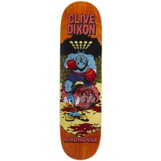 "Birdhouse Dixon Vices Skateboard Deck - 8.25"" - Orange Stain"