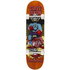 "Birdhouse Dixon Vices Skateboard Complete - 8.25"" - Orange Stain"