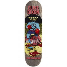 "Birdhouse Dixon Vices Skateboard Deck - 8.25"" - Grey Stain"
