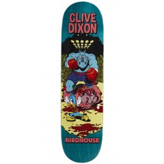 "Birdhouse Dixon Vices Skateboard Deck - 8.25"" - Teal Stain"