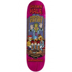 "Birdhouse Hale Vices Skateboard Deck - 8.38"" - Pink Stain"