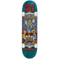 """Birdhouse Hale Vices Skateboard Complete - 8.38"""" - Teal Stain"""