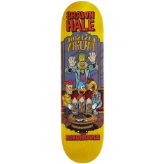 "Birdhouse Hale Vices Skateboard Deck - 8.38"" - Yellow Stain"
