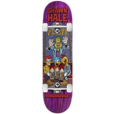 "Birdhouse Hale Vices Skateboard Complete - 8.38"" - Purple Stain"