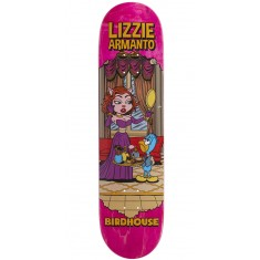 "Birdhouse Armanto Vices Skateboard Deck - 8.00"" - Pink Stain"