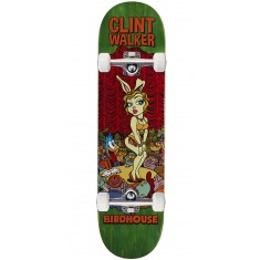 "Birdhouse Walker Vices Skateboard Complete - 8.125"" - Green Stain"
