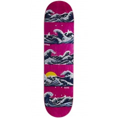 "Real Chima Odyssey Skateboard Deck - 8.02"" - Pink Stain"