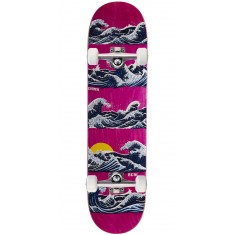 "Real Chima Odyssey Skateboard Complete - 8.02"" - Pink Stain"