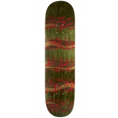 "Real Ramondetta Odyssey Skateboard Deck - 8.18"" - Green Stain"