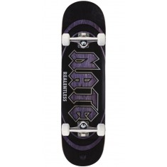 "Real Actions Realized Nate Relentless Skateboard Complete - 8.38"" - Purple Stain"