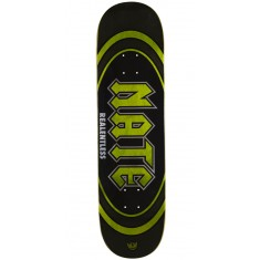 "Real Actions Realized Nate Relentless Skateboard Deck - 8.25"" - Green Stain"