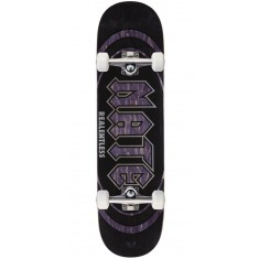 "Real Actions Realized Nate Relentless Skateboard Complete - 8.25"" - Purple Stain"