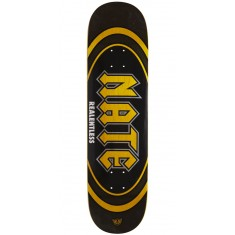 "Real Actions Realized Nate Relentless Skateboard Deck - 8.25"" - Yellow Stain"