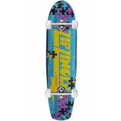 Krooked Piece Out Zinger Skateboard Complete - Black Stain