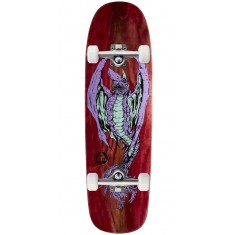 "Welcome Goblin On Golem Skateboard Complete - 9.25"" - Red Stain"