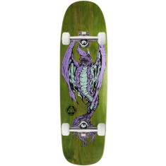 "Welcome Goblin On Golem Skateboard Complete - 9.25"" - Green Stain"