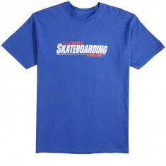 Transworld Retro Magazine T-Shirt - Blue