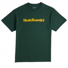 Skateboarder Mag T-Shirt - Green