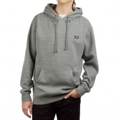CCS Logo Rubber Patch Hoodie - Charcoal Grey