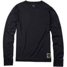 Burton Lightweight Crew Snowboard Base Layer - True Black