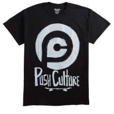 Push Culture Skate or Die T-Shirt - Black