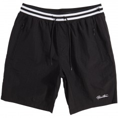 Primitive Creped Warm Up Shorts - Black