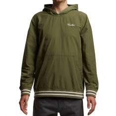 Primitive Creped Hood Jacket - Olive Drab