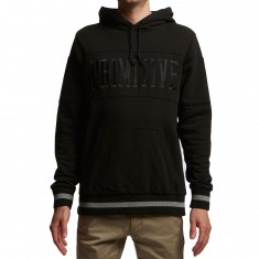 Primitive League Piped Hoodie - Black