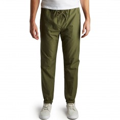 Primitive Creped Warm Up Pants - Olive Drab