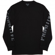 Primitive Block Longsleeve T-Shirt - Black